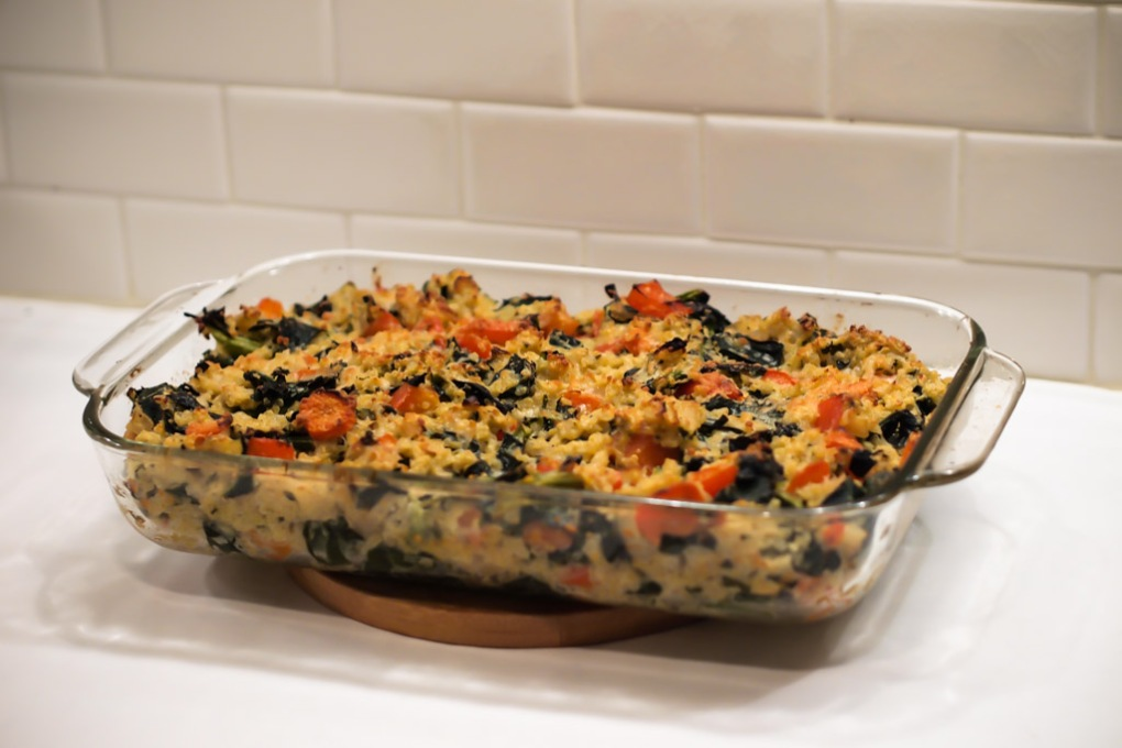 Herbed Quinoa and Kale Casserole - The Clean Gourmet