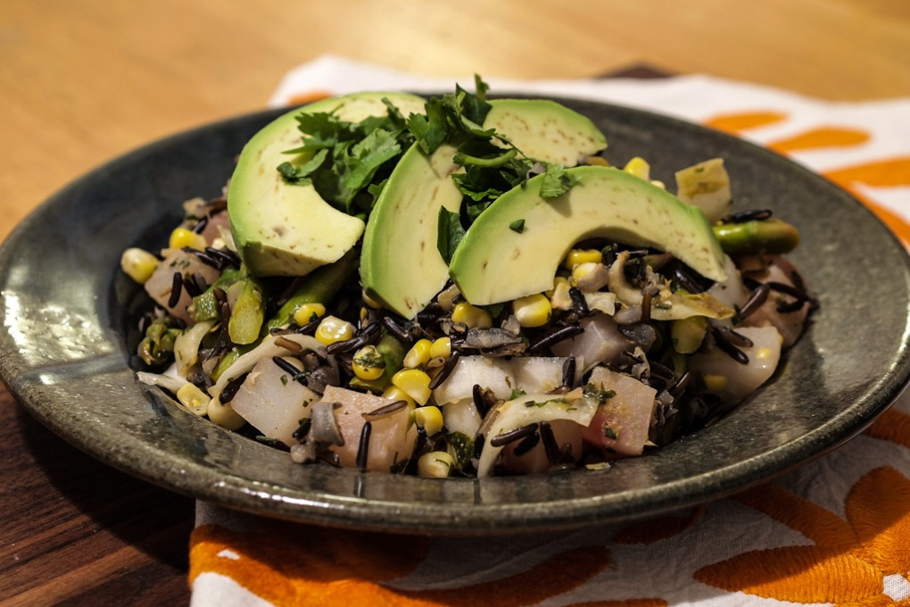 Mexican Wild Rice Salad - The Clean Gourmet
