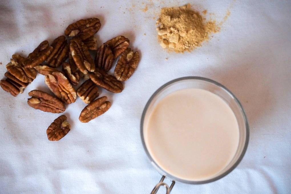 Pecan Milk (Latte di Noce Pecan) - The Clean Gourmet