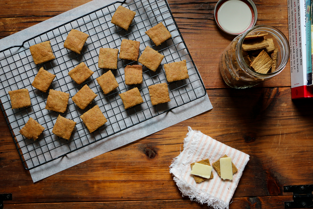Sourdough Crackers - The Clean Gourmet
