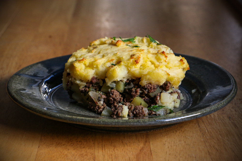 Venison Shepherd's Pie with Horseradish - The Clean Gourmet